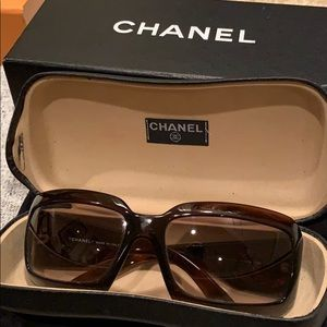 "Chanel ""mother of pearl"" sunglasses"